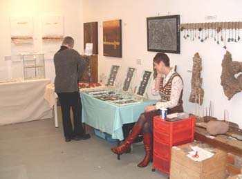a jewellery stall